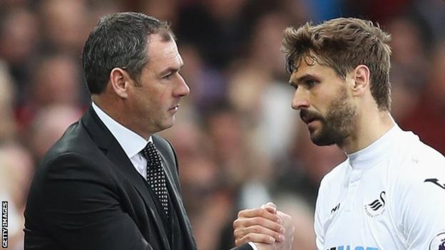 Fernando Llorente was not only the match-winner and a constant threat, he also made a big impact defensively, getting his head to several Everton set-pieces.