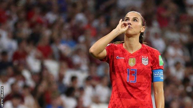 Alex Morgan: Tottenham Hotspur Women sign United States forward thumbnail