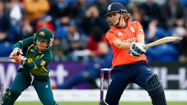 Natalie Sciver recorded career-best figures with both bat and ball