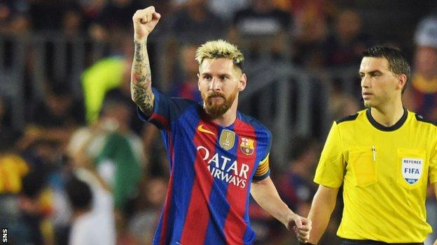 Celtic had no answer to Messi's sublime skills