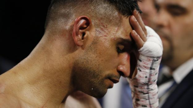 Amir Khan: British boxer should retire after being pulled from Terence Crawford fight, says Steve Bunce thumbnail