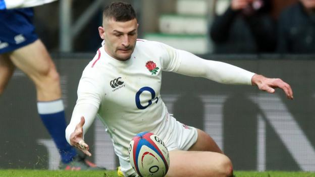 Six Nations: England wing Jonny May makes France pay with dazzling display thumbnail