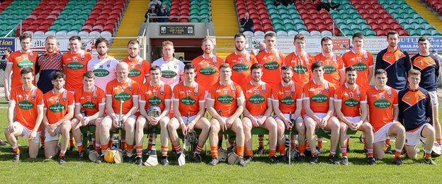 Armagh beat beat Down 1-17 to 2-12 in the 2017 semi-finals