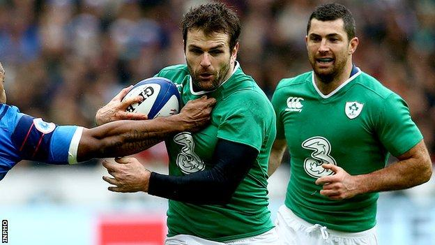 Jared Payne has recovered from a hamstring injury in time to face Italy