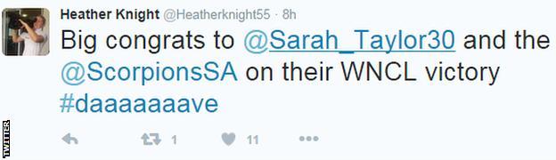 Heather Knight on Twitter