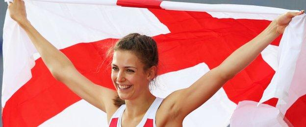 Isobel Pooley won silver in the 2014 Commonwealth Games high jump