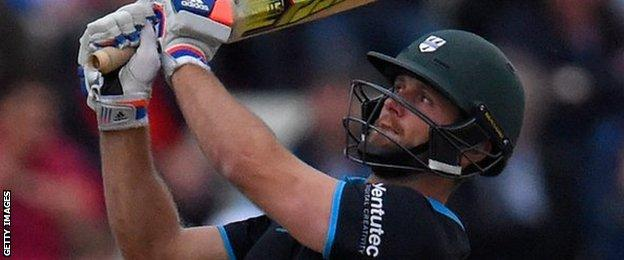 Worcestershire all-rounder Ross Whiteley