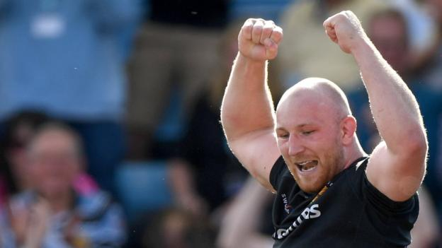 Premiership: Exeter thrash Northampton to reach fourth straight final thumbnail
