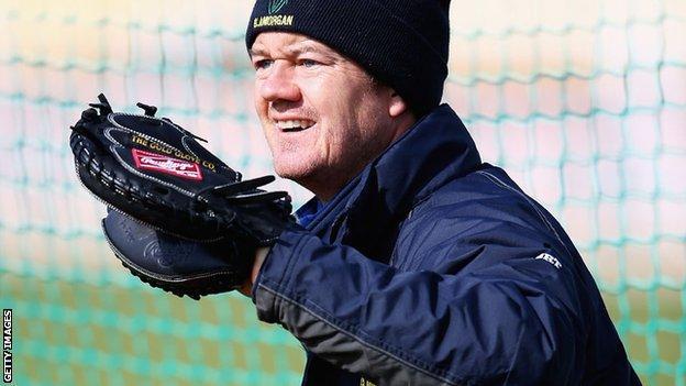 Glamorgan coach Toby Radford
