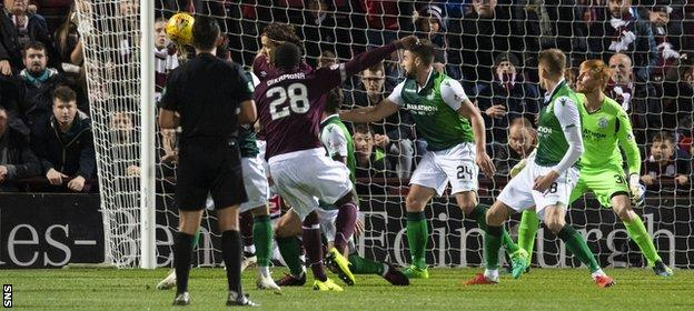 Dikamona's 91st-minute header was ruled out, sparking the incident with Lennon