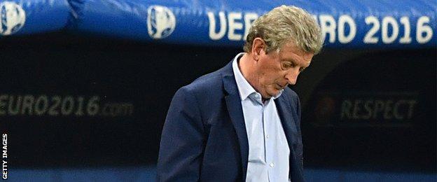 Former England manager Roy Hodgson