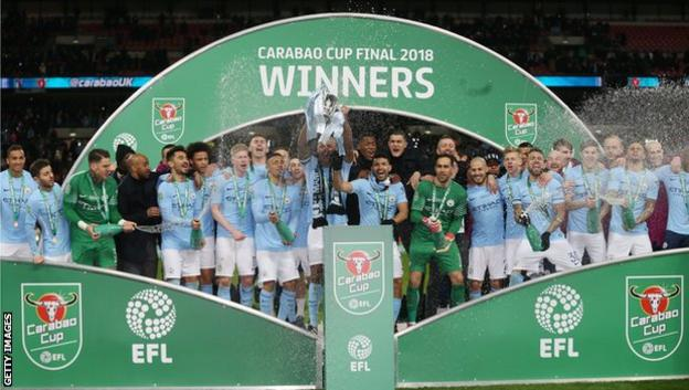 Manchester City win Carabao Cup
