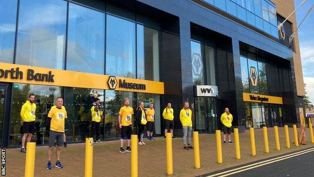 The Big Step started day two at Wolverhampton Wanderers