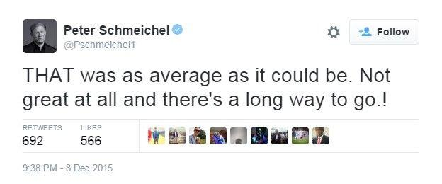Former United goalkeeper Peter Schmeichel was not impressed by their performance