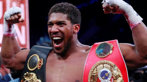Anthony Joshua: Tottenham Hotspur Stadium favourite to host June fight thumbnail