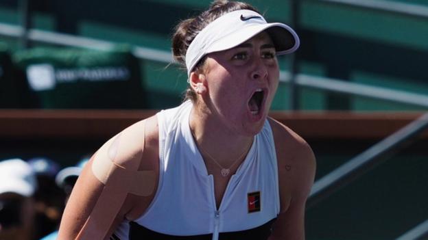 Indian Wells: Bianca Andreescu beats Angelique Kerber to win title thumbnail