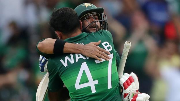 Pakistan beat Afghanistan in Cricket World Cup thriller at Headingley thumbnail
