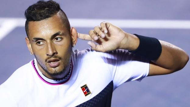 Nick Kyrgios beats Rafael Nadal in Mexican Open thriller thumbnail