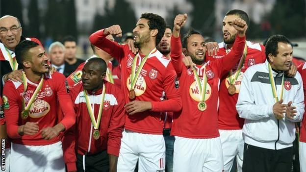 Etoile du Sahel won the 2015 Confederation Cup