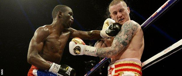 Terrence Crawford, Ricky Burns