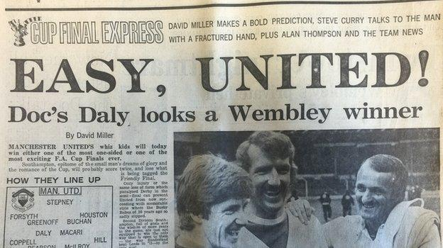 Daily Express front page - 1 May 1976
