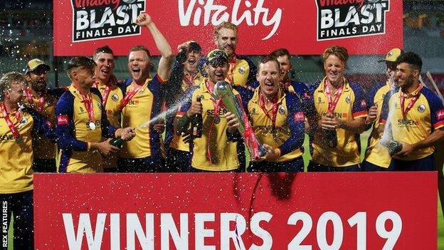 Essex champions