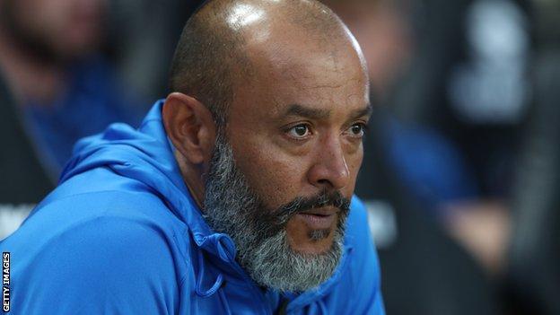 Tottenham manager Nuno Espirito Santo