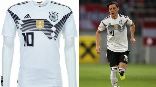 Germany and Mesut Ozil