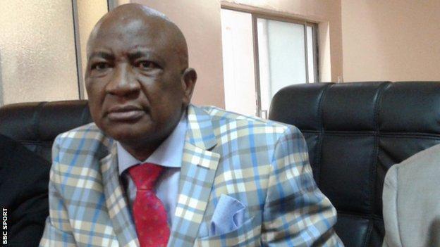 Zifa president Phillip Chiyangwa