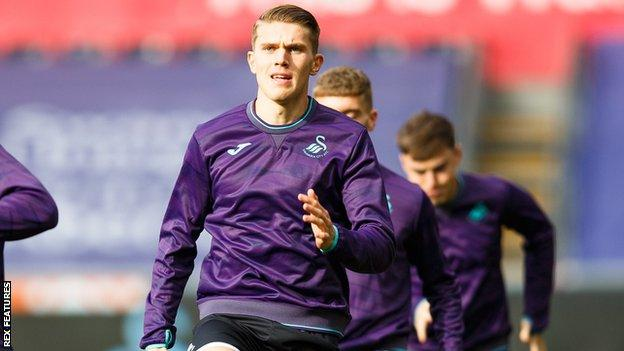 Viktor Gyokeres is yet to score for Swansea having joined on loan from Brighton in October
