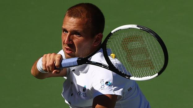 Indian Wells: Dan Evans loses to Stan Wawrinka at BNP Paribas Open thumbnail
