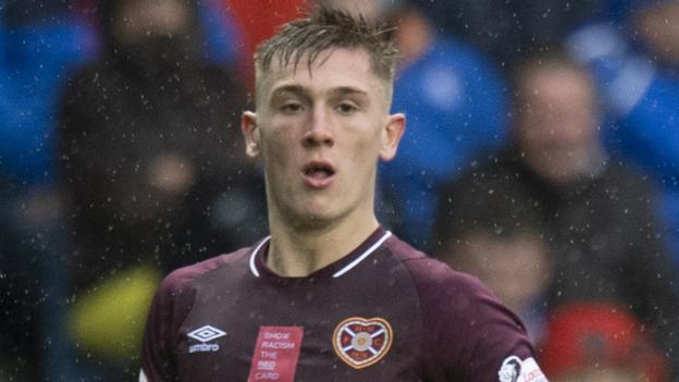 Jimmy Dunne: Hearts boss Craig Levein is anxious to extend the defender's deal