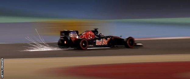 Toro Rosso F1 driver Max Verstappen