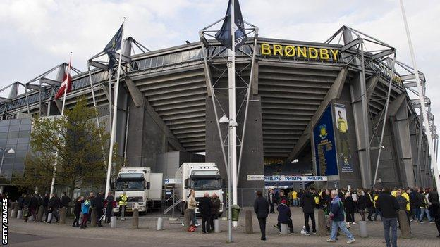 Brondby are top of the Danish Superliga