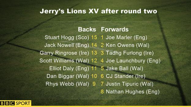 Jerry's Lions XV