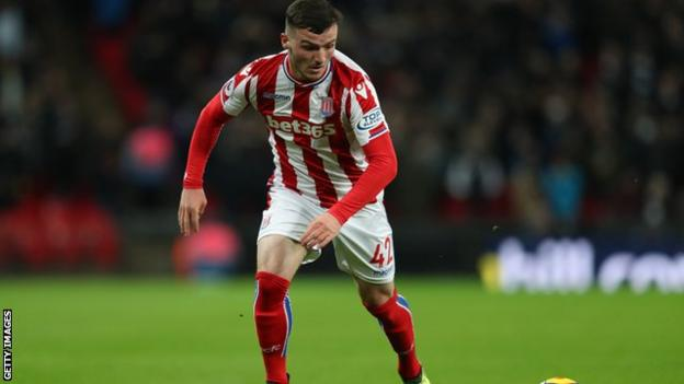 Tom Edwards, 18, produced a solid and mature performance when Stoke were under pressure in the second half.