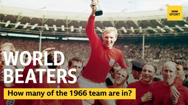 England 1966 World Cup winners