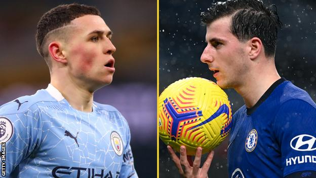 Phil Foden and Mason Mount