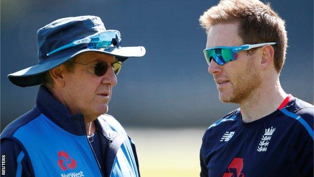Trevor Bayliss and Eoin Morgan