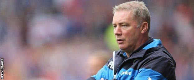 Former Rangers boss Ally McCoist