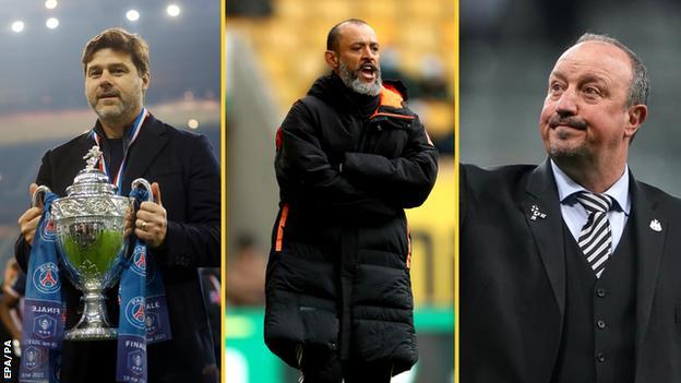 Mauricio Pochettino, Nuno Espirito Santo, Rafael Benitez
