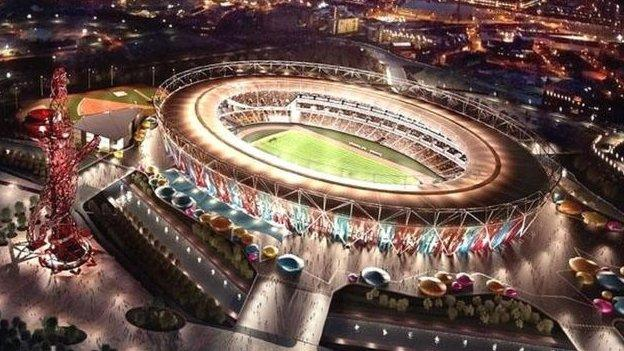 West Ham will play at the Olympic Stadium from the 2016-17 season