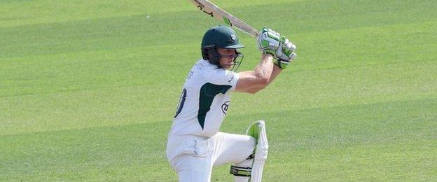 Worcestershire wicketkeeper Ben Cox made his second half-century of the match at Hove - and his seventh of the summer