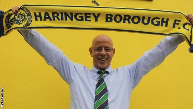 Haringey Borough chairman Aki Achillea