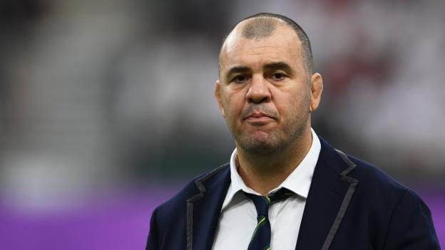 Rugby World Cup: Michael Cheika to wait before deciding his future after England defeat thumbnail