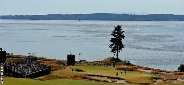 Chambers Bay near Seattle