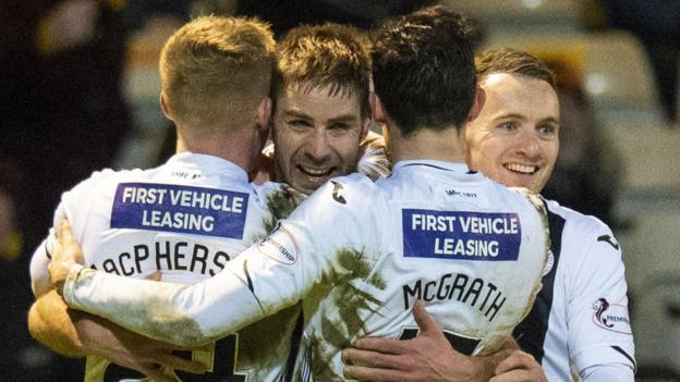 AET Motherwell 4-4 St Mirren: Paisley side into Scottish Cup quarter-finals after shootout thumbnail