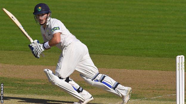 Glamorgan batsman Andrew Salter