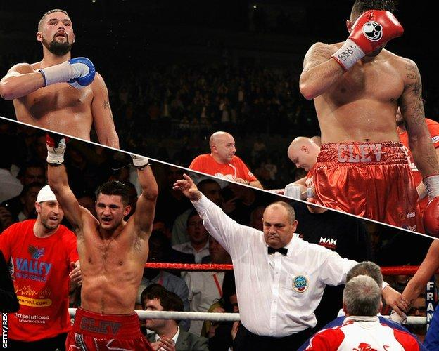 Nathan Cleverly v Tony Bellew