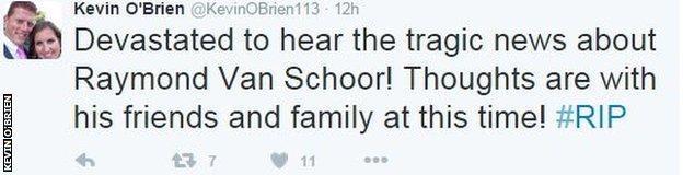 Kevin O'Brien twitter